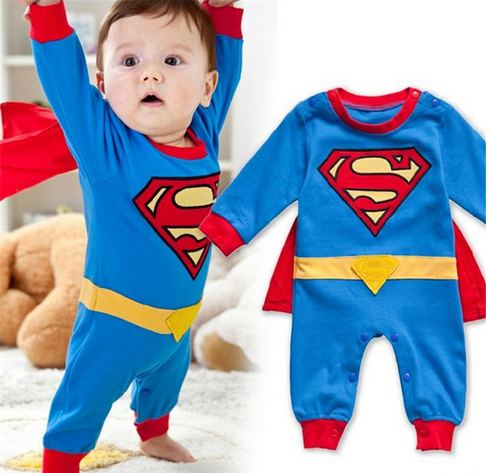pyjama d guisement b b superman le monde de b b. Black Bedroom Furniture Sets. Home Design Ideas