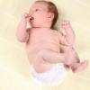 Un peu de sang dans la couche de bébé - est-ce grave ?