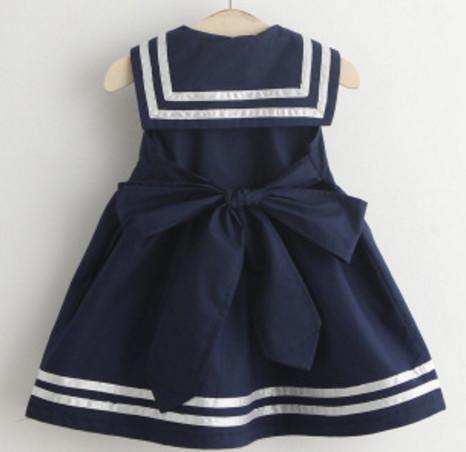 4c320e50e378c Robe marine pour bébé et petite fille – Le monde de bébé