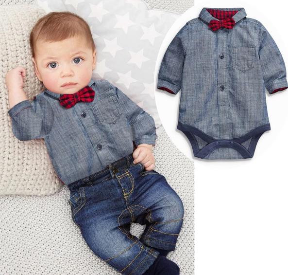 ensemble-jeans-CHEMISE-bebe